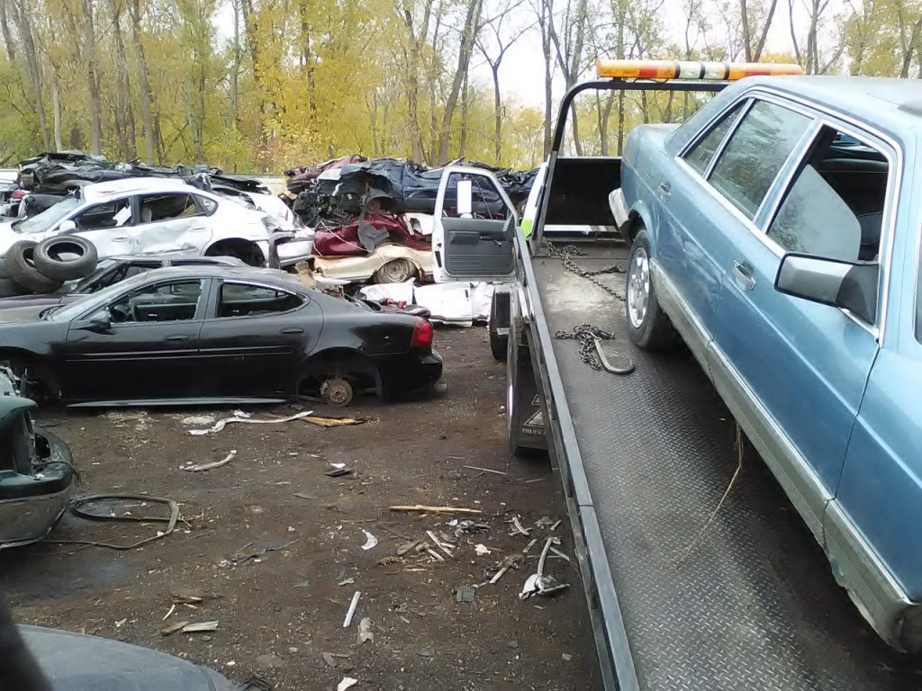 Junk Car Removal | J.D.S Towing